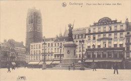 59 - Dunkerque - Place Jean Bart Et Statue Jean Bart (hôtel Des Arcades, Animée) - Dunkerque
