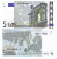 5 €  SLOVACCHIA E010C5 JEAN-CLAUDE TRICHET FDS Cod.€.024 - 5 Euro