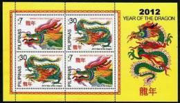 Philippines 2012 // Année Du Dragon // 2v Neuf // Mnh - Chines. Neujahr