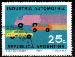 ARGENTINA 1971 Nationalized Industries -  25c Road Transport  FU - Argentinien