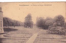 21977 THURY-HARCOURT - Le Parterre Du Château D'Harcourt - Ed Dudonné - - Thury Harcourt
