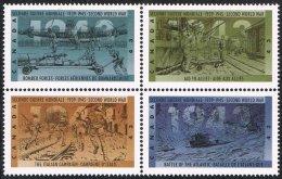 Canada SG1576a 1993 World War Two (5th Issue) Set 4v Se-tenant Unmounted Mint - 1952-.... Reign Of Elizabeth II