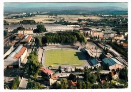 25 - Sochaux Montbéliard - Vue Aérienne - Le Stade Bonal - Editeur: Combier N° 255470004126 - Montbéliard