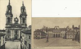 LUNEVILLE - 2 CPA - Le Château (voyagée) - Eglise Saint-Jacques (non écrite) - Luneville