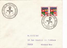 Colomb-Bechar 1961 - BT Foire - Lettres & Documents