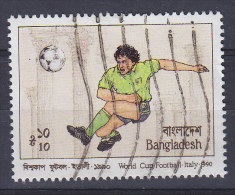 Bangladesh 1990 Mi. 333    10 T Football World Championship Fussball-Welmeisterschaft Italien - Bangladesch
