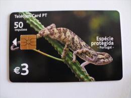Phonecard/ Telécarte Camaleão Portugal - Télécartes