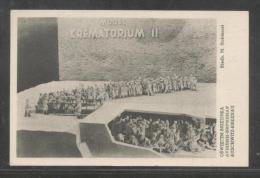 POLAND 1952 AUSCHWITZ-BIRENAU CONCENTRATION CAMP MODEL OF CREMATORIUM MINT NAZI DEATH CAMP JUDAICA JEWS HOLOCAUST WW2 - Polen