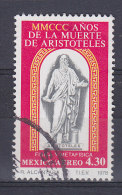 Mexico 1978 Mi. 1604     54.30 (P) Aristoteles, Grechischer Philosoph - Messico