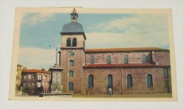 Le Chambon - Feugerolles - ( Loire ) - L'église :::: Animation - Le Chambon Feugerolles