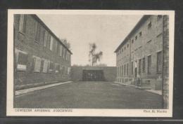 POLAND 1952 AUSCHWITZ-BIRENAU CONCENTRATION CAMP EXECUTION PLACE MINT NAZI DEATH CAMP JUDAICA JEWS HOLOCAUST WW2 PC - WO2