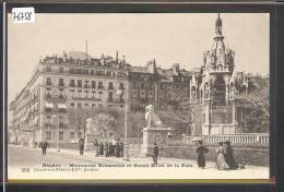 GENEVE - MONUMENT BRUNSWICK - TB - GE Genève