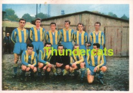 1960'S IMAGE CHROMO FOOTBALL ** 60'S TRADING CARD FOOTBALL ** VOETBAL KAARTJE ** VIENNA MANNSCHAFT WIEN AUSTRIA - Trading Cards