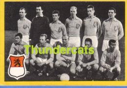 1960'S IMAGE CHROMO FOOTBALL ** 60'S TRADING CARD FOOTBALL ** VOETBAL KAARTJE ** MAPLE LEAF  HOLLAND - Trading Cards