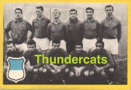 1960'S IMAGE CHROMO FOOTBALL ** 60'S TRADING CARD FOOTBALL ** VOETBAL KAARTJE ** MAPLE LEAF FRANCE FRANKREICH - Trading Cards