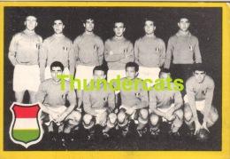 1960'S IMAGE CHROMO FOOTBALL ** 60'S TRADING CARD FOOTBALL ** VOETBAL KAARTJE ** MAPLE LEAF ITALY ITALIE ITALIEN - Trading Cards