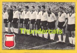 1960'S IMAGE CHROMO FOOTBALL ** 60'S TRADING CARD FOOTBALL ** VOETBAL KAARTJE ** MAPLE LEAF  ALLEMAGNE DEUTSCHLAND - Trading Cards