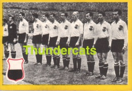 1960'S IMAGE CHROMO FOOTBALL ** 60'S TRADING CARD FOOTBALL ** VOETBAL KAARTJE ** MAPLE LEAF  AUSTRIA AUTRICHE - Trading Cards