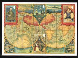 British Virgin Islands - 1980 Francis Drake Block MNH__(THB-1866) - British Virgin Islands