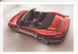 3-Auto-Autovettura-Automobile-Car-Porsche 911 Turbo Cabriolet-Nuova-Nouveau-N Ew. - PKW