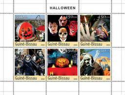 GUINEA BISSAU 2003 - Halloween - Mi 2452-7, YT 1438-43 - Feesten