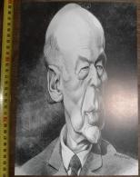 PORTRAIT CARICATURE Valéry Giscard D'Estaing - Collezioni