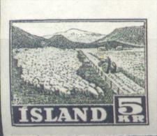 FALSCH FALKST ISLAND ISLANDE ISLANDIA YVERT NR. 233 MNH NON DENTELE SOLD AS IS RARE AÑOS 1950-1952 - 1918-1944 Unabhängige Verwaltung