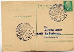 KLOSTERHOF SIEBENBORN Noviand 1967 Auf DDR P77A Antwort-Postkarte ZUDRUCK #1 - Klöster