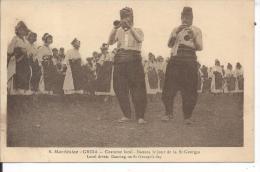 MACEDOINE  - GRIDA - Costume Local, Danses Le Jour De La St Georges - Macédoine