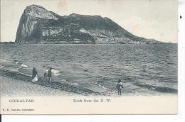 GIBRALTAR - Rock From The N.W. - Gibraltar