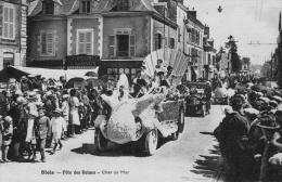 BLOIS Avenue De Saint-Gervais Fête Des Reines- Char De Mer-Charcuterie Beauvais -TBE - Blois