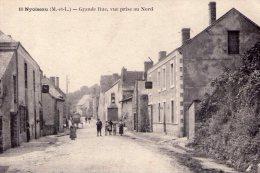 Nyoiseau..animée..la Grande Rue..attelage - Other Municipalities