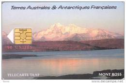 TAAF, TAF-30, Le Mont Ross, 2 Scans. - TAAF - Territorios Australes Franceses