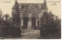 CPA11.BELLOU EN HOULME-LE PRESBYTERE - France