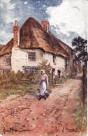 """""""Jotter"""" - Girl From The Village Of Ruan Minor In Cornwall  -  1720 - Tuck, Raphael"""