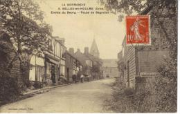 CPA 8.BELLOU EN HOULME-ENTREE DU BOURG-ROUTE DE BAGNOLES - France