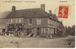 CPA 6.BELLOU EN HOULME-ROUTE DE BRIOUZE-LA NORMANDIE - France