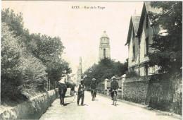LOIRE ATLANTIQUE 44.BATZ  RUE DE LA PLAGE - Batz-sur-Mer (Bourg De B.)