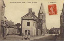CPA ANIMEE 1.BELLOU EN HOULME-L'ENTREE DU BOURG - France