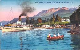 74 EVIAN LES BAINS LE PORT ET LES MENUSES - Evian-les-Bains