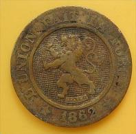 Belgica 10 Centimes 1862 Sobre 1861 - 1831-1865: Léopold I