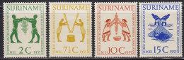 2160. Suriname, 1955, Anniversary Of The Caribbean Tourist Company, MH (*) - Surinam