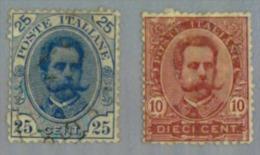 Italie Y&t N°59.61. Oblitéré - 1878-00 Umberto I