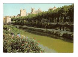 11 NARBONNE N° 25.072 : Canal De La Robine, Donjon Aycelin Et ST Just / CPM Neuve Impeccable !!! - Narbonne