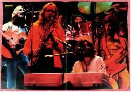 Kleines Musik Poster  -  Band Supertramp  -  Von Bravo Ca. 1982 - Plakate & Poster