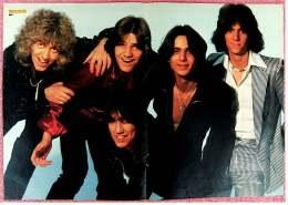Kleines Musik Poster  -  Band Boy  -  Von Bravo Ca. 1982 - Plakate & Poster