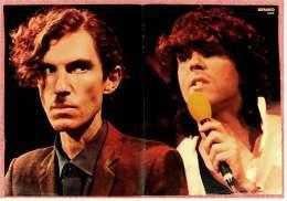Kleines Musik Poster  -  Band Sparks  -  Von Bravo Ca. 1982 - Plakate & Poster