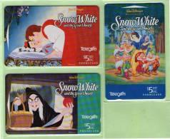 New Zealand - 1994 Disney - Snow White Set (3) - NZ-A-65/67 - Mint - Neuseeland