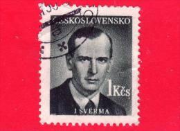 CECOSLOVACCHIA - 1949 - Jan Šverma - 1 - Czechoslovakia
