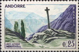 Andorre (PF) Poste N** (Yv:158 Mi:168) Yv:1 Euro Croix Gothique Meritxell - Ongebruikt